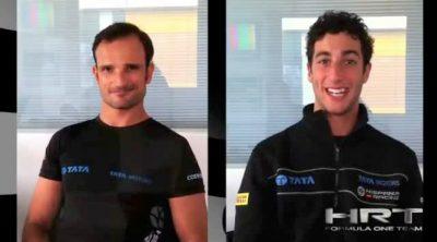 Entrevista a Vitantonio Liuzzi y Daniel Ricciardo