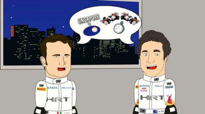 HRToons: GP de Singapur 2011