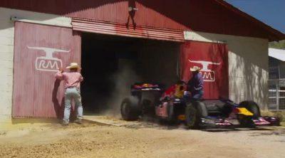 Los 'cowboys' de Austin (Texas) intentan domar el 'toro rojo' de David Coulthard