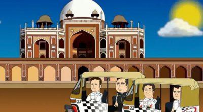 HRToons: GP de India 2011