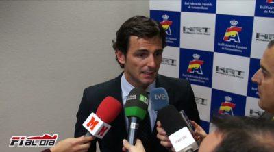 Entrevista a Pedro de la Rosa tras su fichaje por HRT