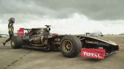 ¿Cuánto acelera un Fórmula 1?