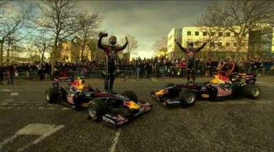 Red Bull Racing celebra su temporada 2011 en Milton Keynes