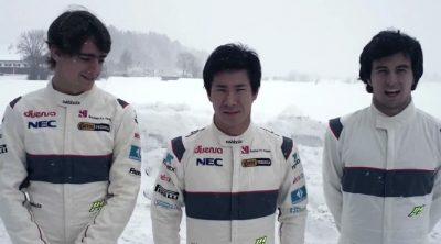 Sergio Pérez, Kamui Kobayashi y Esteban Gutiérrez nos felicitan la Navidad