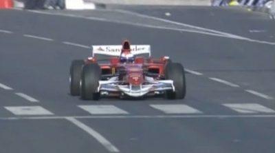 Exhibición de Marc Gené y Ferrari en Catar