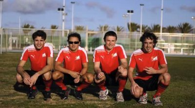 Entrenamiento de Fernando Alonso y Ferrari en Lanzarote