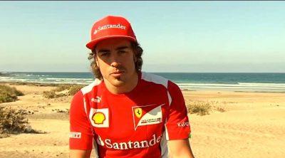 Fernando Alonso habla desde Lanzarote