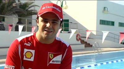 Felipe Massa habla desde Lanzarote