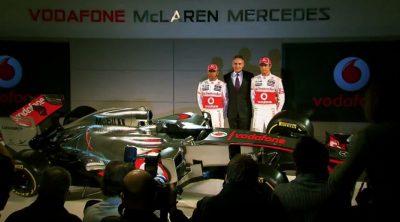 Presentación del McLaren MP4-27 de 2012