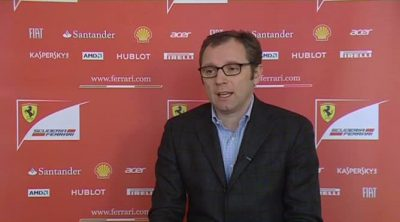 Stefano Domenicali, jefe de Ferrari, habla sobre el F2012