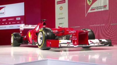 F2012, el Ferrari de 2012