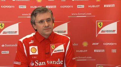 Pat Fry, ingeniero jefe de Ferrari, habla sobre el F2012