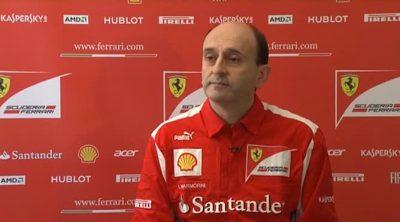 Luca Marmorini, responsable de motores de Ferrari, habla sobre el F2012