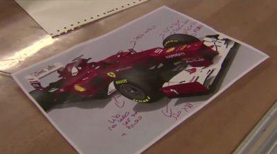 Los últimos retoques al Ferrari F2012