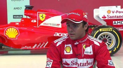 Felipe Massa habla sobre el Ferrari F2012
