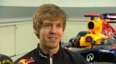 Sebastian Vettel habla sobre el Red Bull RB8