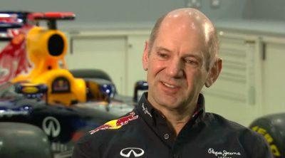 Adrian Newey, ingeniero jefe de Red Bull, habla sobre el RB8