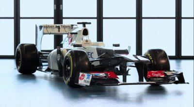 Presentación del Sauber C31 de 2012