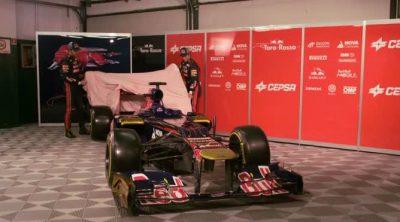 Presentación del Toro Rosso STR7 de 2012
