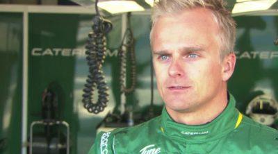 Entrevista a Heikki Kovalainen en Jerez