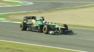 Espectaculares imágenes del Caterham CT01 rodando en Jerez
