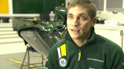Entrevista a Vitaly Petrov tras su fichaje por Caterham