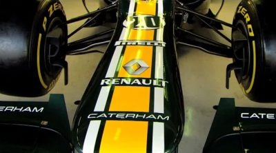 Esto es Caterham F1 (Let's go for a ride)