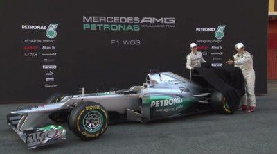 Presentación del Mercedes W03 de 2012