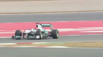 Michael Schumacher, Nico Rosberg, Ross Brawn y Norbert Haug hablan sobre el nuevo Mercedes W03