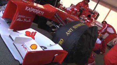 Ferrari nos explica como trabajan durante los test de pretemporada