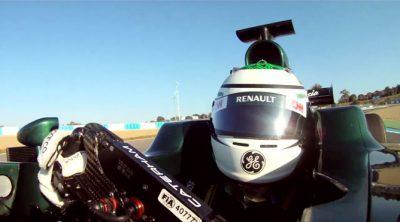 Vuelta 'on board' con Heikki Kovalainen y Caterham en Jerez