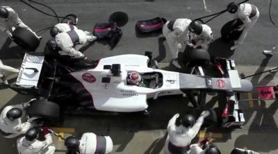 Así prepara Sauber sus 'pit-stops'