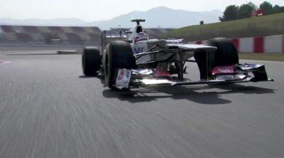 Kamui Kobayashi rueda en el Circuit de Catalunya con el C31