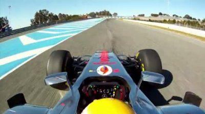 Imágenes 'on board' del McLaren MP4-27