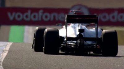 Imágenes 'slow motion' del McLaren MP4-27