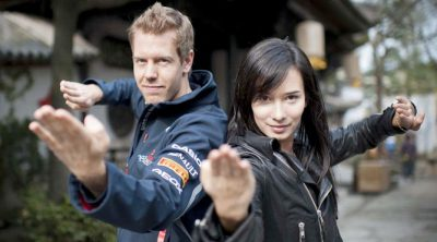 Making of 'Kung Fu Vettel'