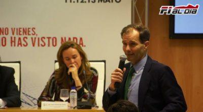 """Luis Pérez-Sala: """"Hasta 2014 o 2015 no estaremos a pleno rendimiento en la Caja Mágica"""""""