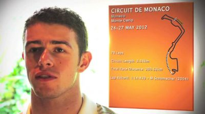 Paul di Resta analiza el circuito de Montecarlo