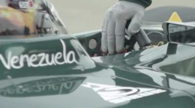 Rodolfo González realizó con Caterham un test aerodinámico en Duxford
