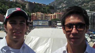 Sergio Pérez y Kamui Kobayashi hablan sobre el GP de Mónaco 2012