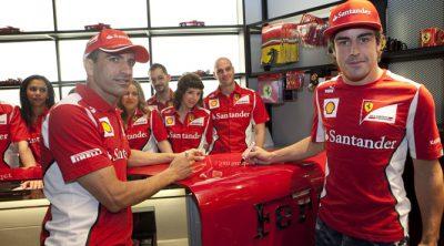 Ferrari inaugura dos Ferrari Store en Madrid