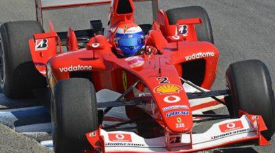 Marc Gené batió el récord de Laguna Seca con el F2003-GA