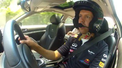 Sebastian Vettel da una vuelta al futuro circuito de Nueva Jersey