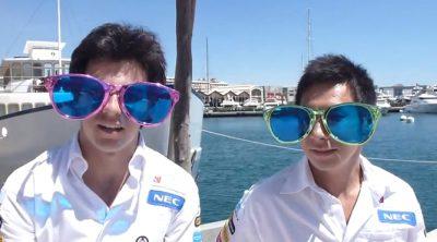 Sergio Pérez y Kamui Kobayashi hablan sobre el GP de Europa 2012
