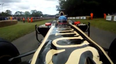 Vuelta 'onboard' con Lotus en el Festival de Goodwood 2012