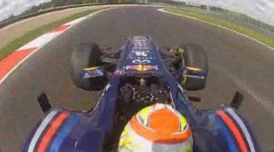 Robin Frijns se sube por primera vez a un Fórmula 1