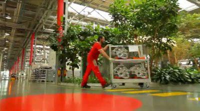 Ferrari presume de zonas verdes en Maranello