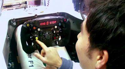 ¿Conocéis el 'nuevo' botón del volante del C31 de Sergio Pérez?