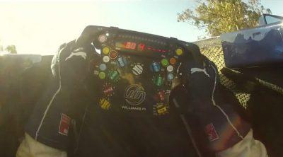 El ritual de Bruno Senna antes de las carreras