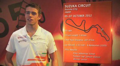 Paul di Resta analiza el circuito de Suzuka